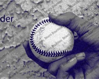 Slider Photograph Baseball Pitching Grip Series