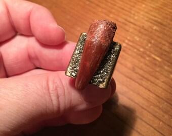 Dinosaur tooth ring