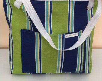 Large  Beach Bag, Tote Bag, Poolside tote, Over size, Diaper Bag, Gym Bag, Over night Bag
