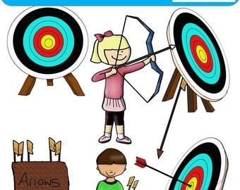 Archery Clip Art-Commercial Free