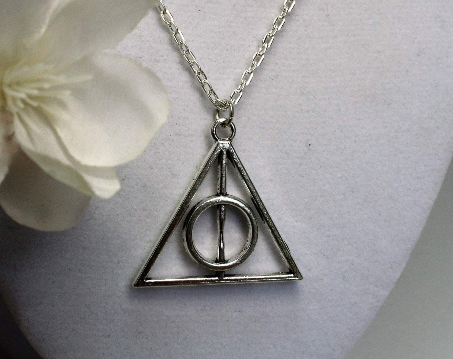 deathly hallows jewelry deathly hallows necklace silver