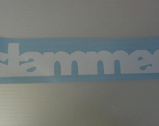 Slammed Vinyl Decal