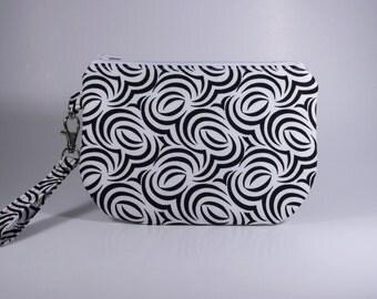 Wristlet Bag Cotton Purse Tote Pouch
