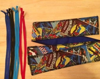 Choose Your Color of Ties Marvel Vintage Comic Covers cross fit Wrist Wraps