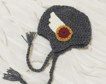 Thor Hat, Crocheted Hat, Super Hero Hat, Comic Book Gear, Marvel Comics, Marvel Gear, Thor, Avengers Hat, Avenger, Baby Accessories
