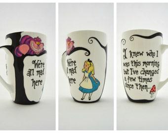 Alice in Wonderland Bone China Mug