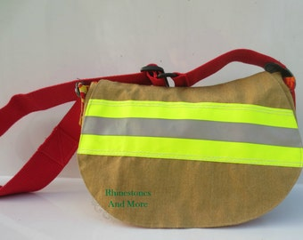 Firefighter purse made from NEW bunker gear