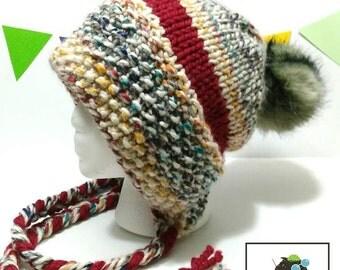 Eliza's hat pattern, pdf pattern, hat knitting pattern