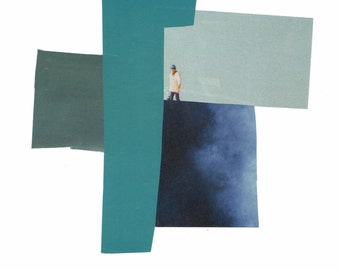 "Original Handmade Collage - ""Lost"""