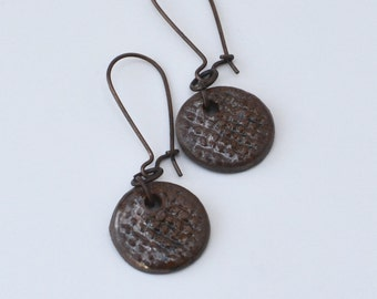 Ceramic Earrings Stoneware Earrings