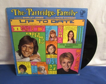 PARTRIDGE FAMILY Record Up to Date 1971