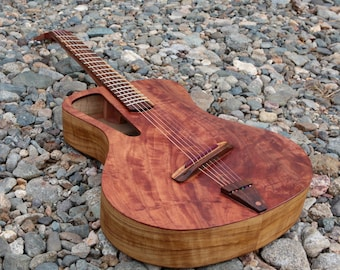 """Acoustic guitar Handmade Luthier fanned fret """"Raulo"""""""