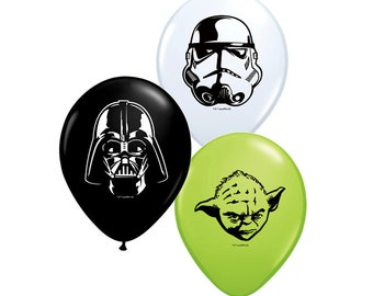 "Set of 25 Star Wars 5"" Latex Balloons party decoration"