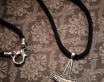 Mjolnir Paracord Necklace