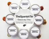 Choose any 3 spice tins, Custom Spice Kit, Gift under 25, Artisanal Food Gift