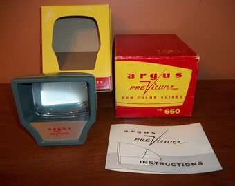 Argus PreViewer for Color Slides No. 660 - Argus PreViewer - Argus Slides Viewer - Argus