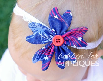 3D Stacked Scallop Felt Flower ITH In the Hoop by ...
