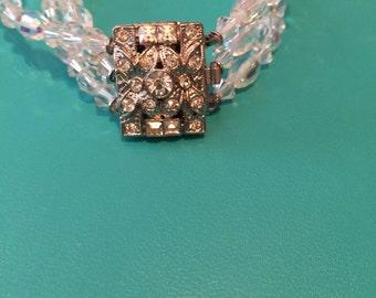 Beautiful Crystal Vintage Bracelet