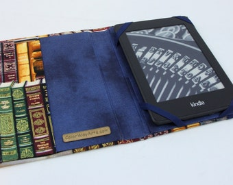 custom kindle paperwhite cover, kindle case, kindle cover, fabric kindle cover (made to order)