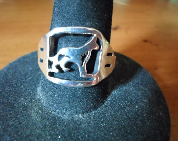 any breed heavy mens ring (german shepard)