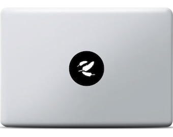 Feather Sticker for MacBooks
