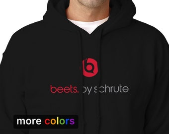 "BEETS BY SCHRUTE Adult Hooded Sweatshirt, Dwight Schrute from ""The Office"" Hoodie"