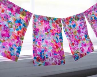 Handmade Fabric Birth Affirmation Banner (6)