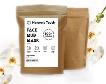 Natural Detoxifying Anti-Acne Mask with Dead Sea Mud ,150g.NEW