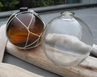 Glass Fishing Float, Collectable, Antique, Nautical Decor, Beach Decor, Beach Cottage Decor, Sea Glass, Home and Garden