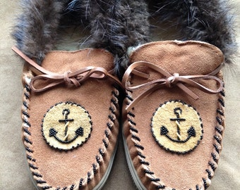 Slippers with Anchor