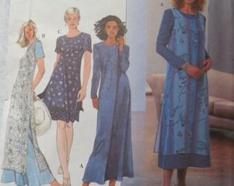 Sewing Pattern Dress Sewing Pattern Dress Pattern Simplicity 8379 Size H 6 8 10 Uncut Factory Folds