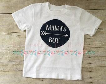 Mama's boy shirt, hipster boy, toddler boy shirt