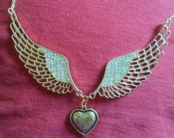 Crystal Winged Heart