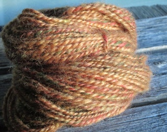 Handspun Yarn, Lincoln Longwool, Firestar, 'Madrid'