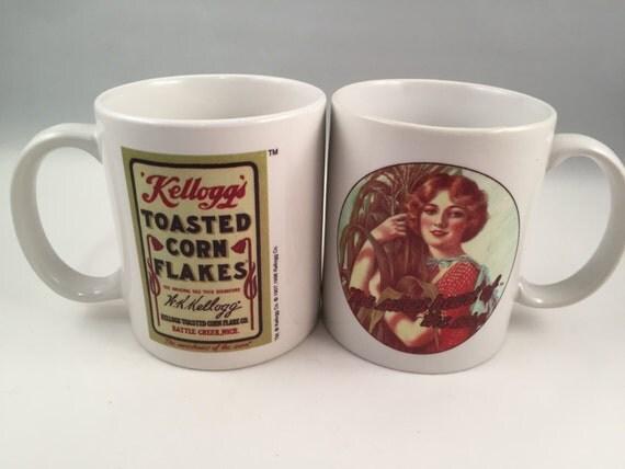 Vintage kelloggs coffee cup