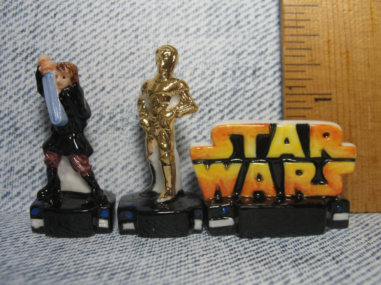 SALE STAR WARS 10 pc set Luke Darth ObiWan R2 D2 Darth