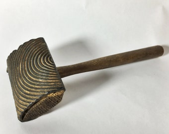 Antique Wood Grain Stamping Tool