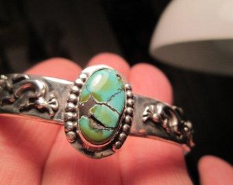 Mint Turquoise from Cloud Mountain...Kokopelli bracelet by TonyL...