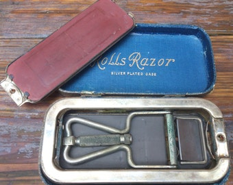 Vintage boxed No.1 Imperial model Rolls Razor