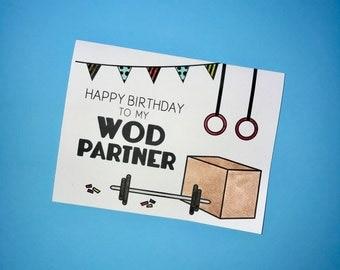 Happy Birthday to my WOD Partner