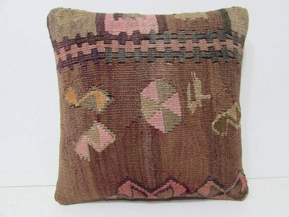 handiwork kilim pillow southwestern pillow by DECOLICKILIMPILLOWS