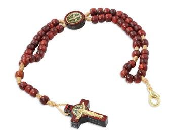 St Benedict Bracelet, St Benedict Jewelry, Catholic Jewelry