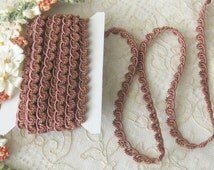 Fancy Delicate Braid and Loop Trim - Crafts, Sewing, Dolls, Teddy Bears, Crazy Quilt, Scrap Book
