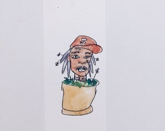 Wiz Khalifa Plant Bookmark