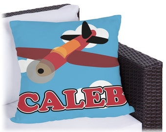 Airplane Outdoor Pillow