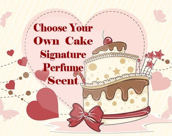 Cake Scented Perfume - 64 Different Cake Scents - Cake Perfume - Roll-On Perfume - Parfume Oil - Perfume for Women