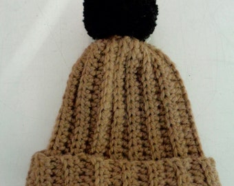 Crochet Bobble Hat