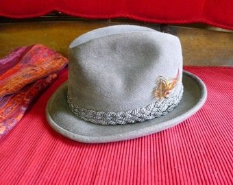Vintage Stetson Fedora hat The Sovereign