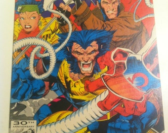 X-Men 4 1st Omega Red Appearance NM Condition 1991 2nd Series