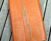 Custom order for Carrie-Hand Bound Leather Journal / Notebook Australian Made